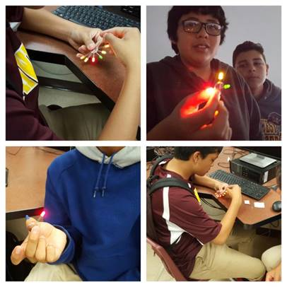Learning about circuits and LEDs