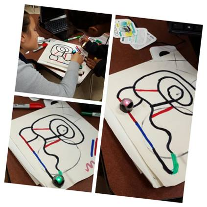 building Ozobot mazes